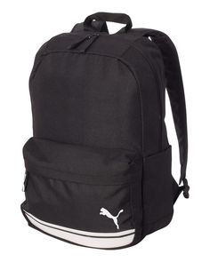 Puma Black And White 16L Archetype Backpack Black Backpack 5c649a3b92ef8