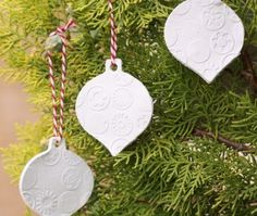 Making Clay Christmas Ornaments with the Kids   Shire Kids