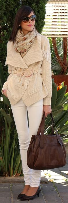 #Autumn In #Cream by Be Trench