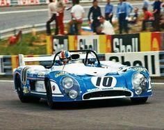 Francois Cevert MATRA 670B Le Mans 1973 Sports Car Racing, Auto Racing, Alpine Renault, Matra, Course Automobile, Nascar, Le Mans 24, Gilles Villeneuve, Old Race Cars