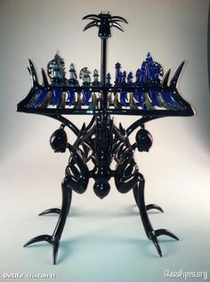 Chess Set by Banjo and Tristan Hodges | Community Post: 15 Pieces Of Glass Art That You Wouldn't Believe Are Pipes