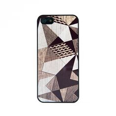 BlissfulCASE iPhone 5 White Geo, $24.99, now featured on Fab.