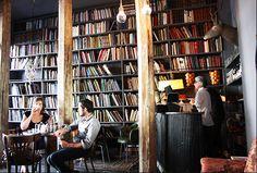 Merci - used book cafe - Paris