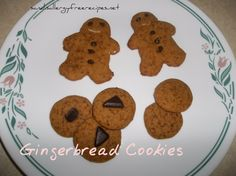 Gingerbread Cookies Thanks for sharing at vegetarianmamma.com's #glutenfreefridays link up!