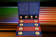 2011 P&D US MINT SEALED PRESIDENTIAL  8 COIN UNCIRCULATED SATIN DOLLARS SET