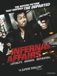 Infernal Affairs (2002) Film Poster