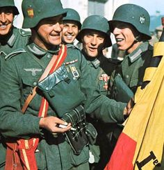La Division Azul - Spanish volunteers fighting for Nazi Germany