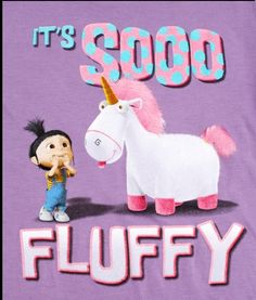 Fluffy Unicorn From Despicable Me