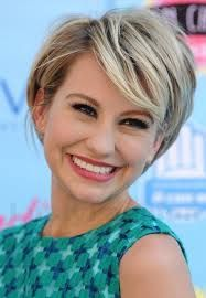 Image result for pixie hairstyles for thick curly hair