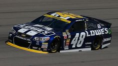 Jimmie Johnson spins in round 1 of qualifying, forcing him to start in Sunday's race. Nascar Live, Jimmy Johnson, News Media, Spinning, Kansas, Race Cars, Abs, Racing, Hand Spinning