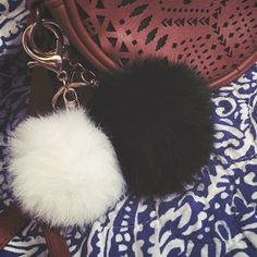 Soft and furry Puff Pom keychains for purses Soft & furry keychains! •  $48.00 at Macy's  • great quality not crappy fur or cheap Keychain      UPDATED AND NEW ITEMS AS WELL AS CHEAPER PRICES ON MER.CARI • $12 for 1 • $17 for 2 • $21 for 3 • $25 for 4 Super cute & chic I love mine! Tags: Micheal Kors puff Pom Hunter Boots Brandy Melville Pink VS Victoria's Secret Toms Uggs Furry Soft Christmas Gift Purse Handbag Accessory Ralph Lauren Luxury Tumblr Hipster Rad Kate Spade Accessories Key…