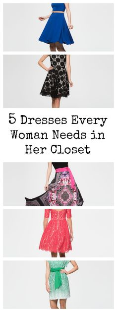Five Dresses Every Woman Should Have in Her Closet #ad
