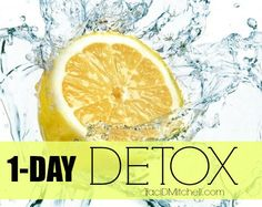 My One Day Detox Routine – With Recipes