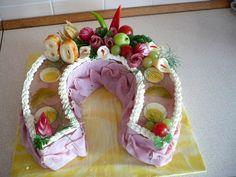 Podkova k 80 - tinám Food Decoration, Food Art, Bread Recipes, Cake, Desserts, Diy And Crafts, Appetizers, Pastries, Finger Food
