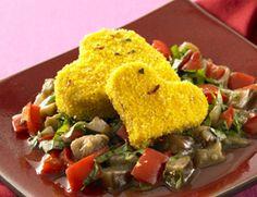 Crispy Tofu Hearts Recipe - Vegetarian Recipe