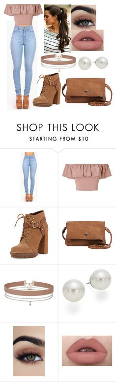 """""""Untitled #1083"""" by clariinhafloor on Polyvore featuring Vibrant, Miss Selfridge, BCBGeneration, Day & Mood and AK Anne Klein"""