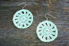 earrings ~ free pattern