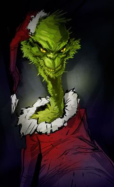 Grinch by ~pungang