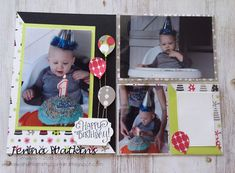Broadway Bound DSP 6 x 8 and pocket scrapbook page Theme Words, Balloon Bouquet, Better Together, Ink Pads, Brighten Your Day, Scrapbook Pages, Card Stock, Broadway, Balloons