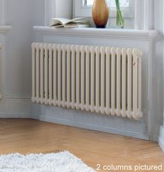 Need to do more research but here's a pic to be getting on with ... Zehnder Charleston Horizontal 2 Column Radiator