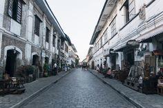 Calle Crisologo, Vigan City Vigan, Paint Schemes, Asd, Philippines, Adventure, City, Illustration, Paint Color Schemes, Cities