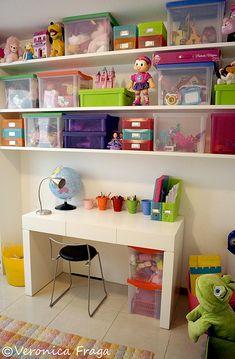 como organizar o quarto infantil e brinquedos - Pesquisa Google