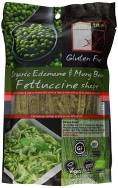 Explore Asian Organic Mung Bean Fettuccini - Gluten Free - 7.05 OZ (Pack of 6)