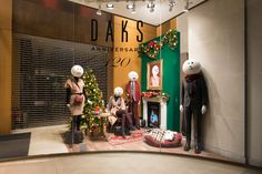 DAKS Christmas Windows, 2014 by Millington Associates