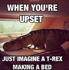 Just Imagine funny funny humor meme memes T Rex Humor, T Rex Jokes, Fun Jokes, Jokes Pics, Funny Cute, Haha Funny, Funny Memes, Funny Stuff, Funny Shit