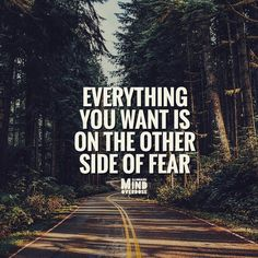 Fear stops a lot of people from making even first step. ................ #be #fearless #mindset