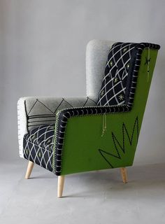 Rising: Best of Cape Town Design 2015 Africa Rising: Best of Cape Town Design. Hand embroidered and embellished armchairs by Casamento.Africa Rising: Best of Cape Town Design. Hand embroidered and embellished armchairs by Casamento. Funky Furniture, Home Decor Furniture, Luxury Furniture, Furniture Design, Furniture Stores, Furniture Websites, Outdoor Furniture, Cheap Furniture, Rustic Furniture