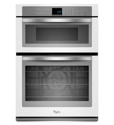 Whirlpool 5.0 cu. ft. Combination Microwave Wall Oven with Convection Cooking  in White Ice