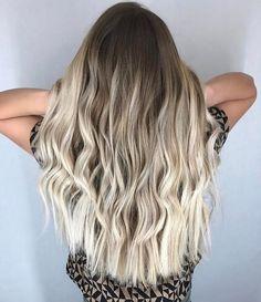 Blonde Gif, Balayage Hair Blonde, Brunette Hair, Carmel Blonde, Red Hair Color, Bob Styles, Strawberry Blonde, Hair Videos, Dark Hair