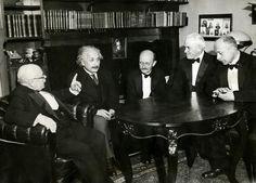 Max Planck, Albert Einstein and others