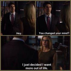 Arrow - Ray Palmer and Felicity Smoak #3.2 #Season3