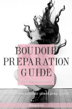 Boudoir guide for the hottest, most flattering poses. Top guide for boudoir photographers. Classy, tasteful and unique poses to guide your boudoir clients for a successful and enjoyable photo shoot. Full PDF guide, simple to use. Boudoir Photography Poses, Photography Tips Iphone, Boudoir Pics, Boudoir Photographer, Beauty Photography, Boudoir Photo Shoot, Photography Articles, Photography Classes, Photography Ideas