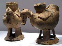 Early Korean earthernware. ceramics-and-sculpture-artists-studios