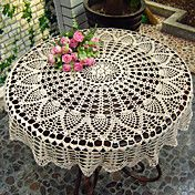 Modern Style Floral Pattern Cotton Table Clot... – USD $ 11.99