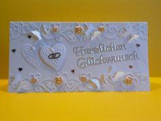 Hochzeitskarte von Sternchen0568 auf DaWanda.com