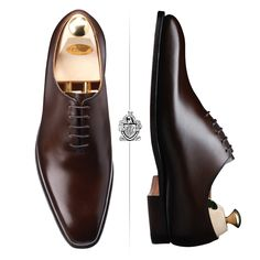 Crockett & Jones Alex in Dark Brown Burnished calf
