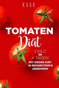 3 Kilo in 4 Tagen: Mit der Tomaten-Diät soll man im Rekordtempo abnehmen #abnehmehn #diät #diet #ernährung #weightloss #fatloss #nutrition
