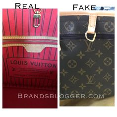 How To Spot A Fake Louis Vuitton Neverfull Bag for all sizes. In this article we have explained in a few simple how not to be frauded by fake products. Real Louis Vuitton Bag, Louis Vuitton Handbags 2017, Vintage Louis Vuitton, Louis Vuitton Monogram, Sacs Louis Vuiton, Cheap Handbags, Authentic Louis Vuitton, Cross Body Handbags, Luigi