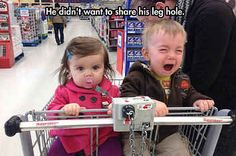 16 Creative Ways To  Keep Your Kid From Having A Meltdown While You Shop