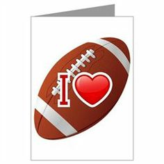 #Artsmith Inc             #Everything ElseCollectibles                        #Greeting #Card #Love #Football                     Greeting Card I Love Football                                                 http://www.snaproduct.com/product.aspx?PID=7675834