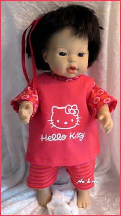 Setje voor little baby born  www.poppenmode.com