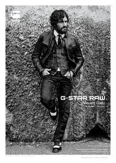 vincentgallo2 Vincent Gallo for G Star Raw Fall 2011 Campaign