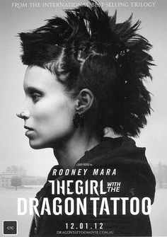 The Girl with the Dragon Tattoo trilogy by Steig Larrson. I heard that Rooney Mara's portrayal as the passionate and disturbed computer hacker Lisbeth Salander is not to be missed.