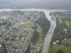 Aerial View, Hope BC by Emergency Info BC, via Flickr. www.HopeBC.ca  Ah...Home Sweet Home