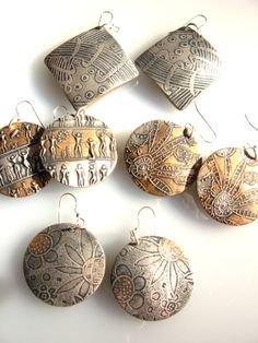 zentangle earrings - crafthaus