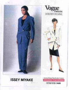 Issey Miyake Vogue Pattern